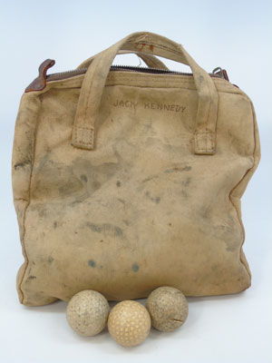 JFK-golf-ball-tote-auction