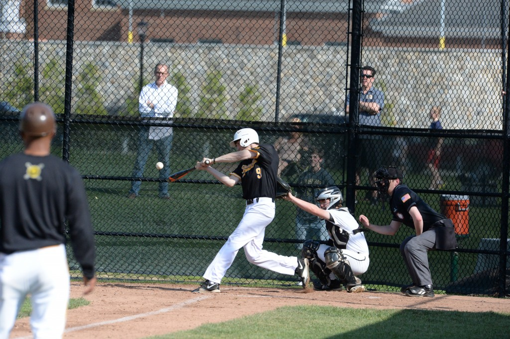 Brunswick's Charlie Sealy takes a swing during Friday's FAA title game (John Ferris Robben Photo)