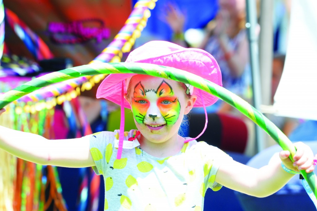 Children and adults alike came together Saturday during the annual Greenwich Town Party (John Ferris Robben)