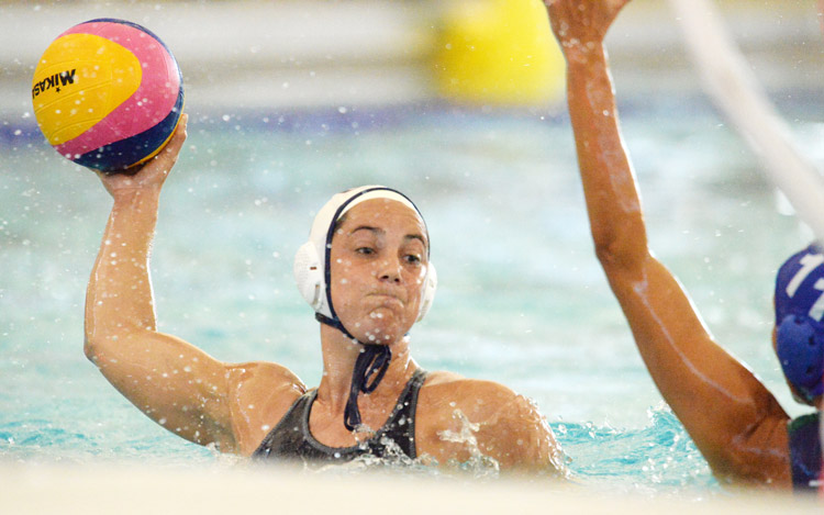 The United States Water Polo Team took to the pool at the Greenwich YMCA for an exhibition game against Hungary. Both teams, each one with dreams of gold medals, were prepping for the 2016 Rio Olympics, which will be taking place in a few short weeks. (John Ferris Robben photo)