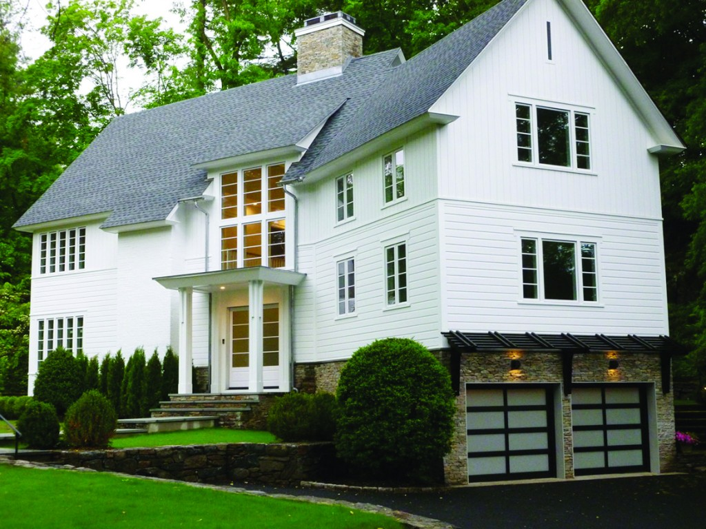 """An eco-friendly home built by Greenwich resident Sabine Schoenberg, the innovative smart, green, and healthy home named """"The Greenwich House"""" is found at 130 Old Church Road."""