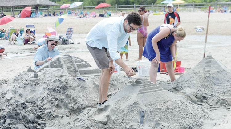 Saturday was all about fun in the sun, as Greenwich Parks & Recreation held its annual Sanblast event at Tod's Point.(John Ferris Robben photos)