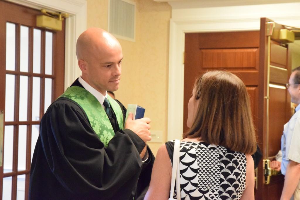 Head Minister of the Presbyterian Church, Sean Miller.