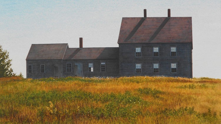 Randy Eckhart – Blue Hill, ME Egg tempera