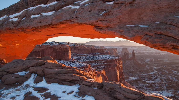 Sunrise Arch. Matt Gray
