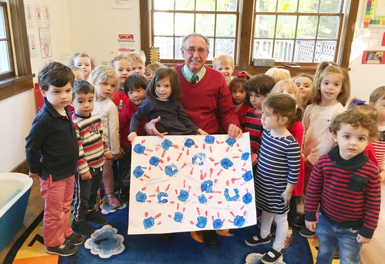 greenwich preschool preschool students honor veterans 599