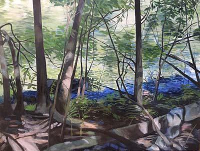 Landscape painting by Deborah Pierce Bonnell