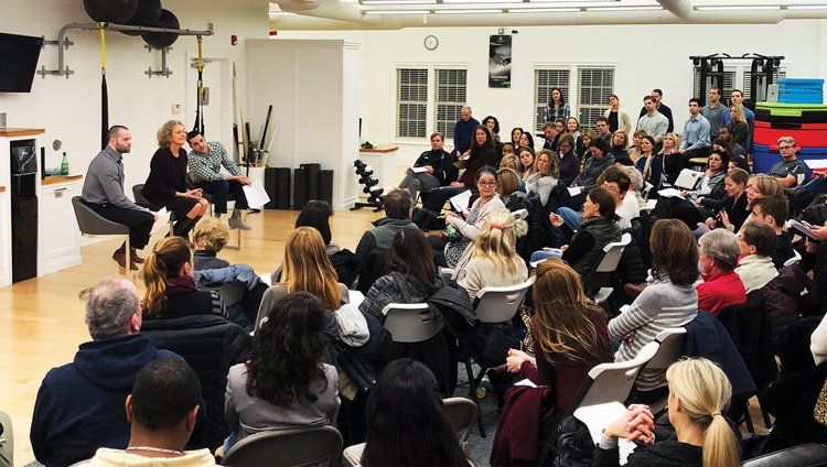 Performance Physical Therapy and Wellness launched the first of its newly  released lecture series last week. (contributed photo)
