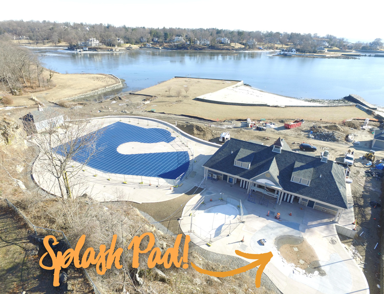 Businesses Step Up for Splash Pad at Pool in Byram Park | Greenwich Sentinel