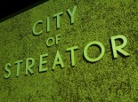 City of Streator Sign Park Illinois
