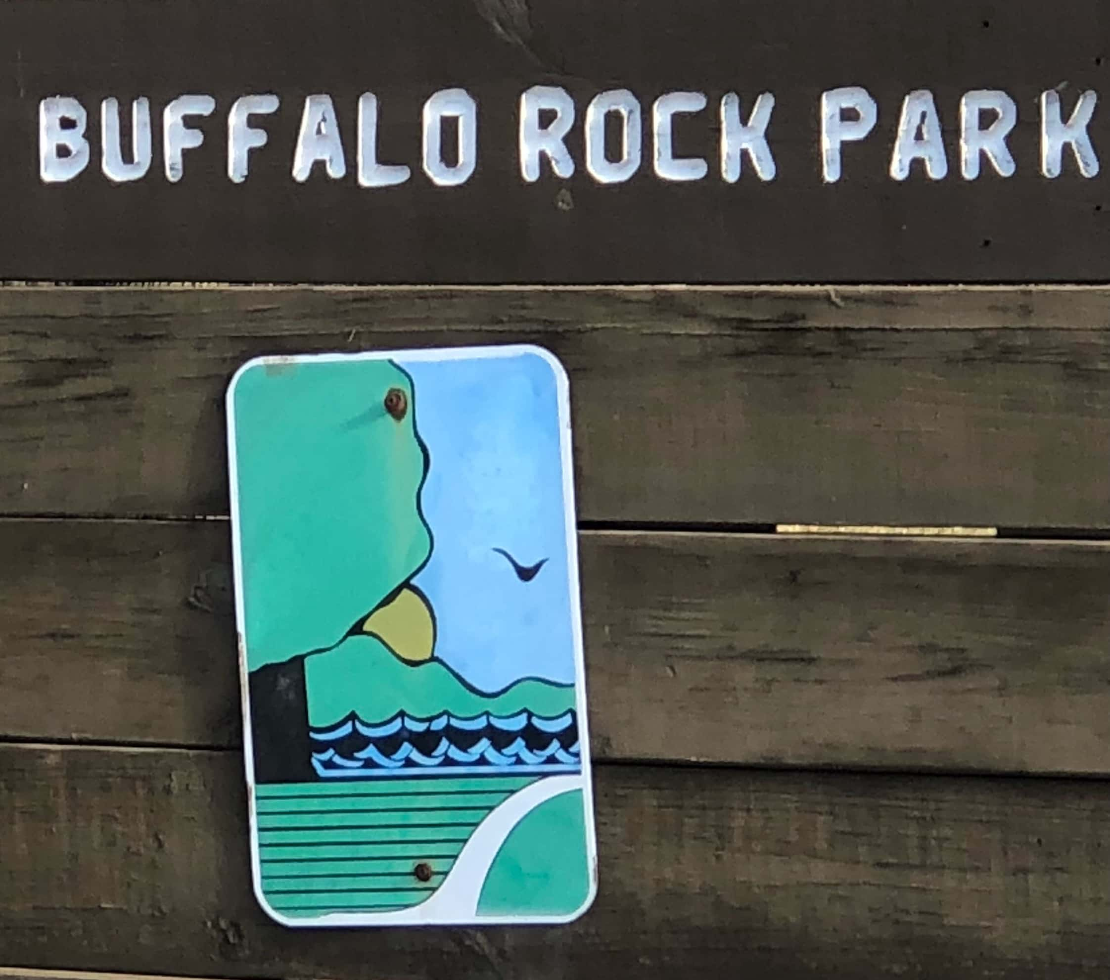 Buffalo Rock State Park Sign