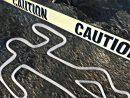 Murder homicide death dead body chalk outline