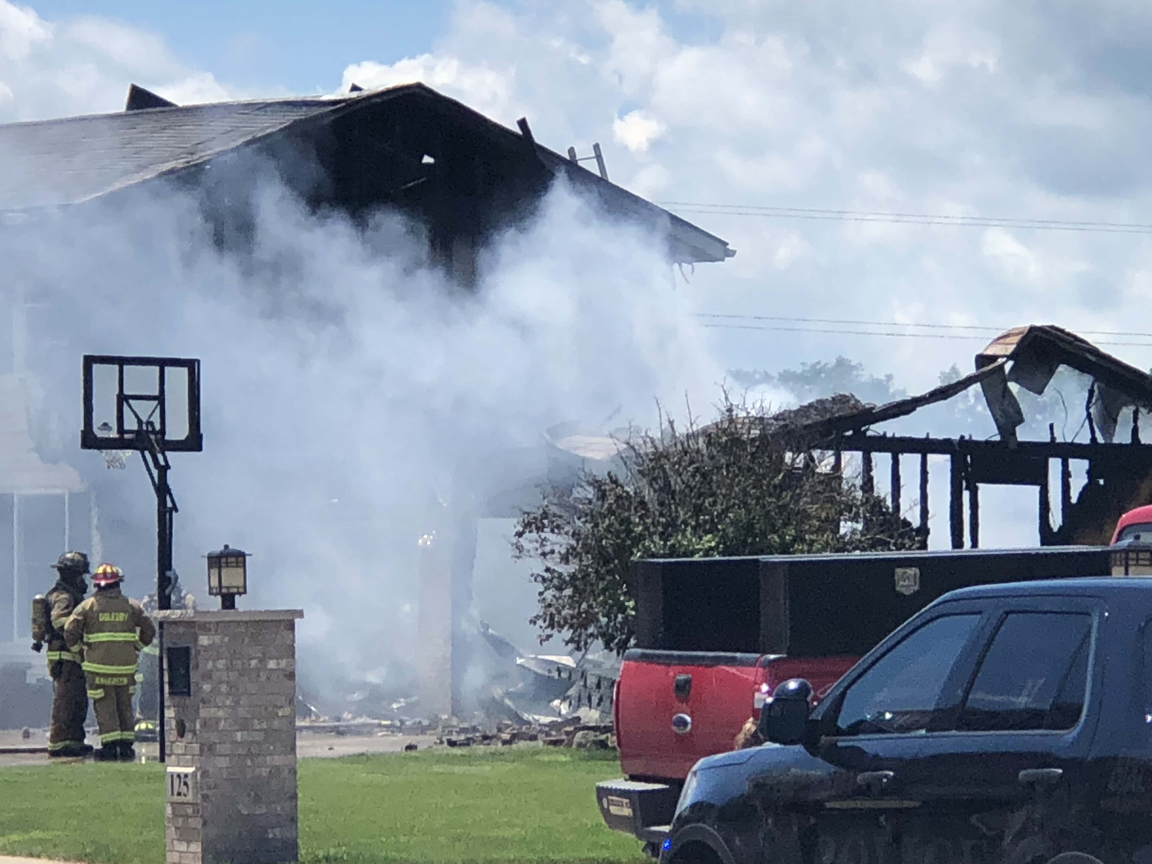 Wednesday House Fire In Oglesby