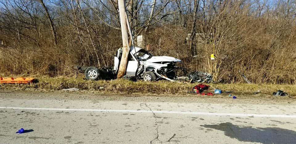 Passenger Dies in Grundy County Christmas Eve Crash | WGLC