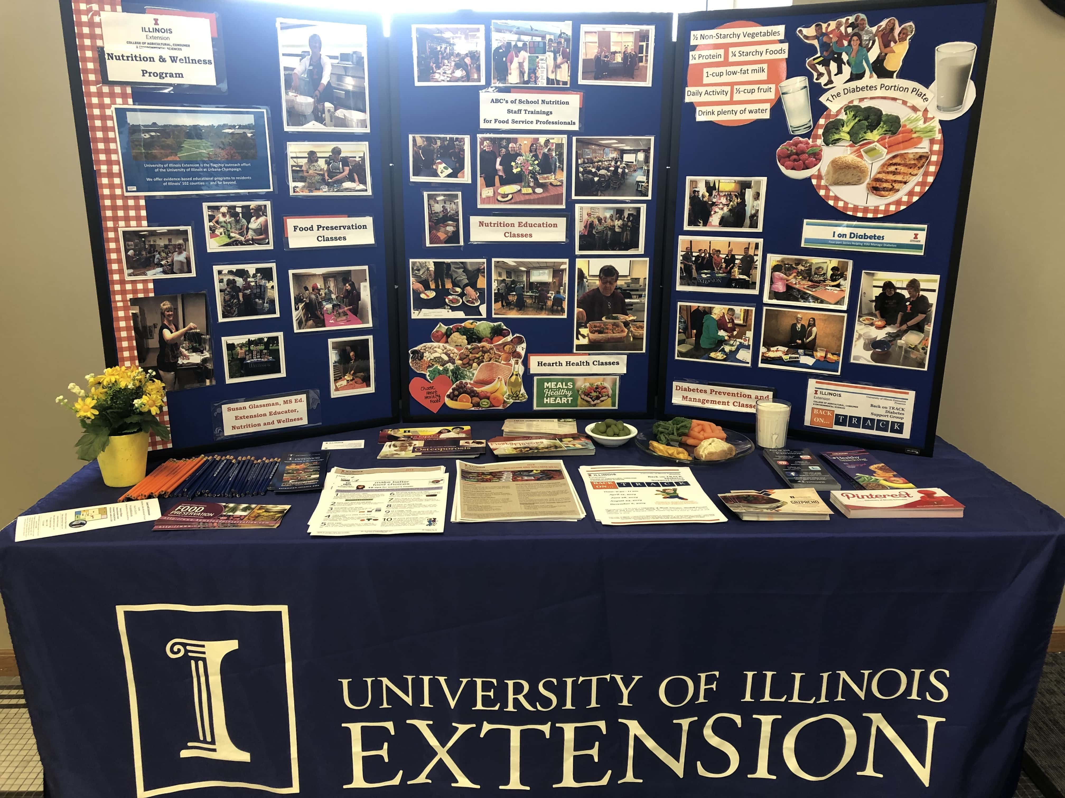 U of I presents education center and community teaching