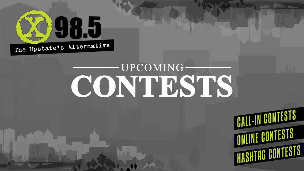 Contests | X 98 5 FM / WJMZ-HD2