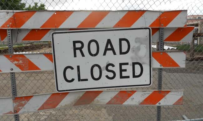 Highway 20 Intersection In Sac County Closed  Alternate
