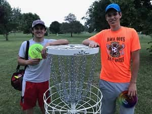 5a731be5e53 Memorial Park In Breda Has A New Disc Golf Course Thanks To Three College  Students Home On Break