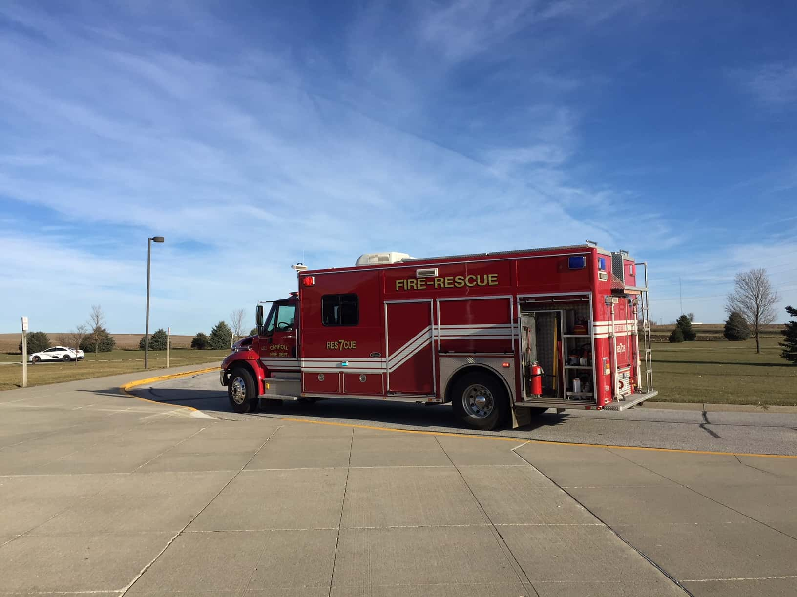 Only A Little Smoke, No Fire At Carroll Middle School Early Monday
