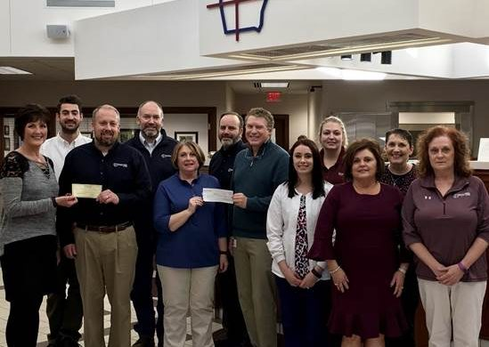 United Bank Of Iowa Donates To Four Area Cancer Centers