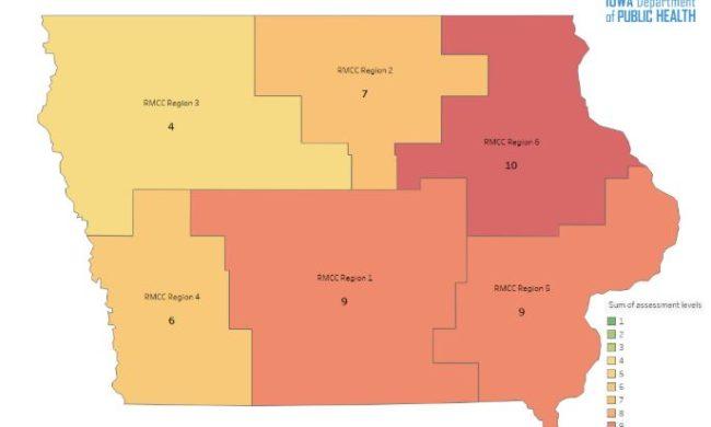 Gov Reynolds Orders Increased Mitigation Measures In Ne Iowa S