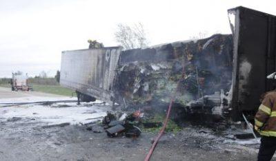 Semi Trailer Burns Near South Haven | News/Talk 94 9 WSJM