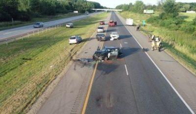 Two Injured In Highway Crash | News/Talk 94 9 WSJM