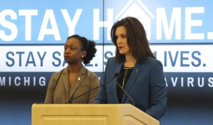Governor Whitmer To Provide Covid 19 Response Update This Afternoon News Talk Sports 94 9 Wsjm