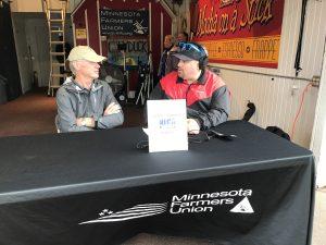 Minnesota Farmers Union – Pres  Gary Wertish MN State Fair