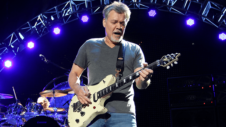 Eddie Van Halen 2017