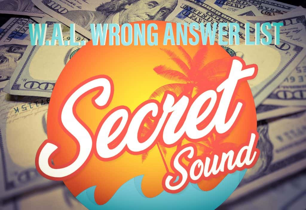 Quiz Wrong Answer Sound