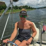 Aly-Foster: Aly Foster's Throne is on her Boat!