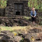 Christina-Flener: Christina Flener's Throne is at this Stone Chimney!