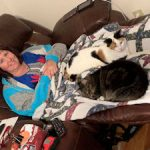 Christy-Spencer: Christy Stucker's Throne has a Cat!
