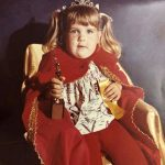 Cristy-Sharp: Cristy Sharp's Throne has a Kid with a Trophy and a Ribbon!