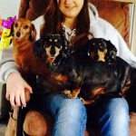 Jacqueline-McLean: Jacqueline McLean's Throne is with her dogs!