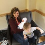 Julie-Withrow: Julie Withrow's Throne is at home with her Kids!