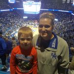 Madison-Glisson: Madison Glisson's Throne is his seat at a UK Basketball Game!