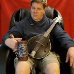 Rick-Peterson: Rick Peterson's Throne is with a Stein and a Mandolin!