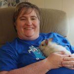 Tammy-Lafferty: Tammy Lafferty's Throne has a Bunny on it!