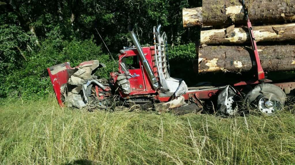 Gas Prices Oregon >> Crash Into Log Truck Kills Suicidal Oregon Man | MyCentralOregon.com