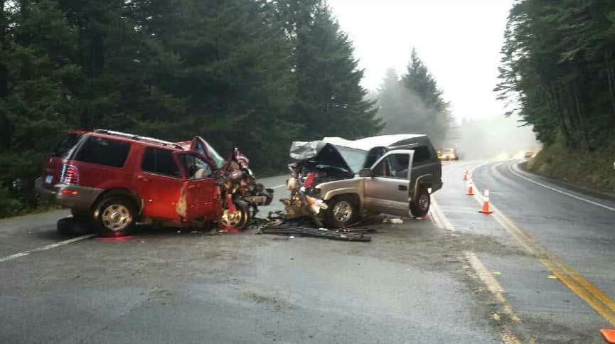 Fatal Head-On Crash on Highway 101 In Oregon ...