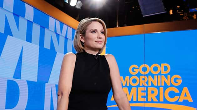 Gma Co Anchor Amy Robach Preps For Her Close Up On Castle
