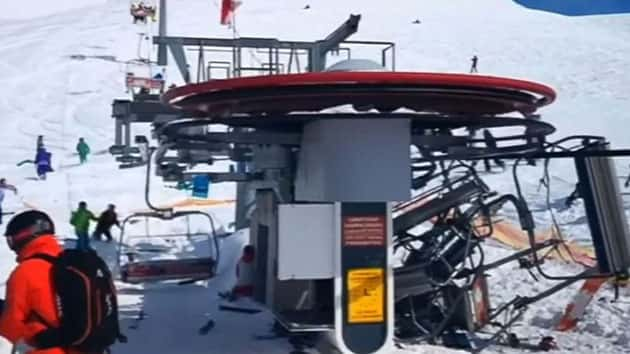 Several people hurt after ski lift malfunction at Georgia ...