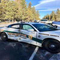 Deschutes County deputy recovering after pickup slams into