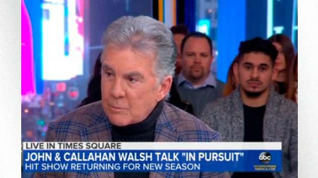 No Bad Guy Is Safe When John Walsh And Son Callahan Are In