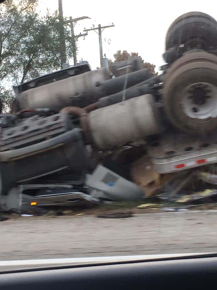 Rollover Accident on I-94 Causing Traffic Back-ups | WKHM-AM
