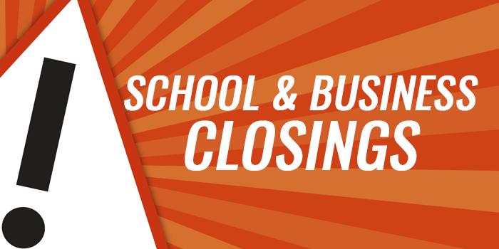 School Closings   WKHM-AM