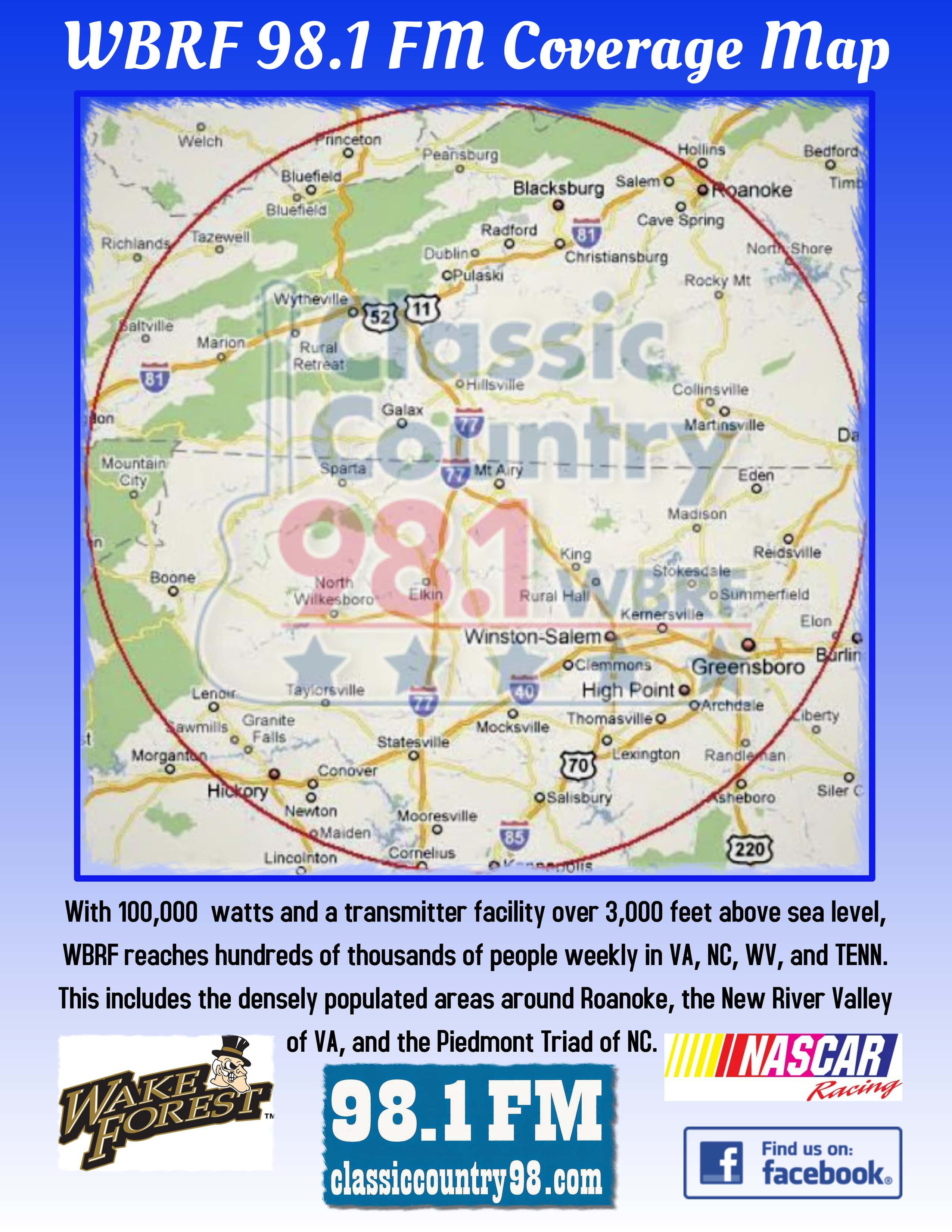 About Us Classic Country 98 1 Wbrf