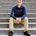 """Drew Bartrom: Marion High Class of 2020. """"Drew played soccer and football at Marion High School this past fall. He plans on studying electrical engineering at IUPUI."""""""